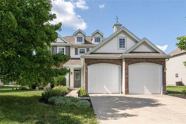 12628 Brookhaven Drive, Fishers, IN 46037 (MLS #21797210) :: The Evelo Team