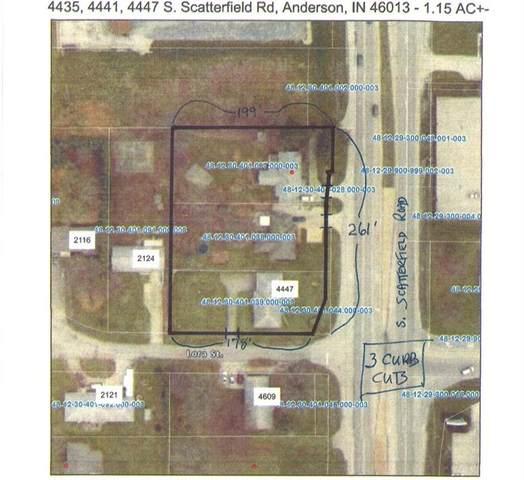 4435,4441,4447 S Scatterfield Road, Anderson, IN 46013 (MLS #21797260) :: JM Realty Associates, Inc.