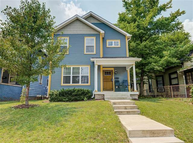 3224 N Capitol Avenue, Indianapolis, IN 46208 (MLS #21797363) :: The Indy Property Source