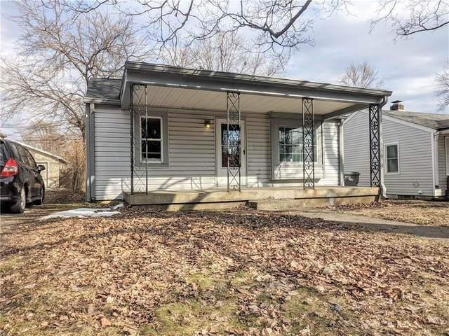 2815 S Delaware Street, Indianapolis, IN 46225 (MLS #21797397) :: Mike Price Realty Team - RE/MAX Centerstone