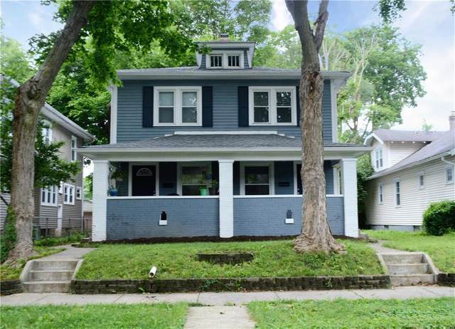 4248 Graceland, Indianapolis, IN 46208 (MLS #21797409) :: AR/haus Group Realty