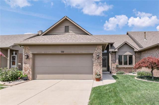 686 Cottage Lane, Greenwood, IN 46143 (MLS #21797421) :: Mike Price Realty Team - RE/MAX Centerstone