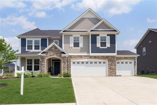 8138 Peggy Court, Zionsville, IN 46077 (MLS #21797429) :: Mike Price Realty Team - RE/MAX Centerstone