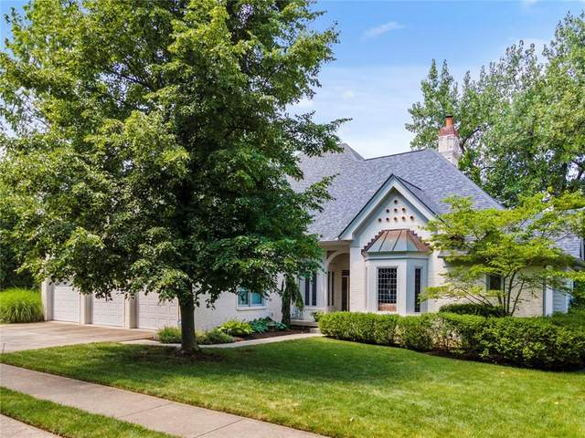 6436 Dawson Lake Drive, Indianapolis, IN 46220 (MLS #21797479) :: The Indy Property Source