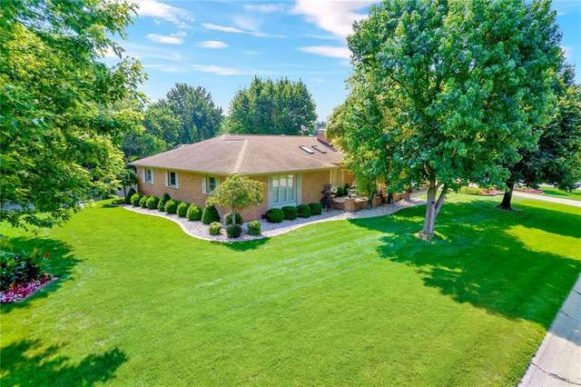 409 Leaning Tree Road, Greenwood, IN 46142 (MLS #21797569) :: Mike Price Realty Team - RE/MAX Centerstone