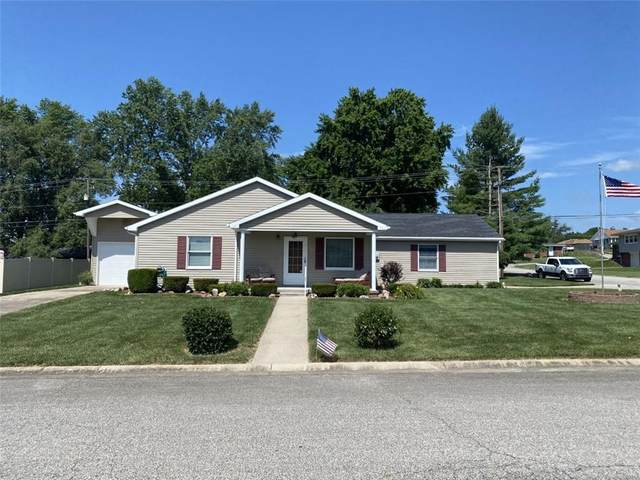 900 Stephanie Drive, Brownstown, IN 47220 (MLS #21797584) :: The Indy Property Source