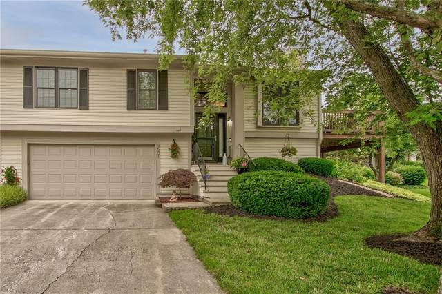 9501 Bay Vista West Drive, Indianapolis, IN 46250 (MLS #21797672) :: Mike Price Realty Team - RE/MAX Centerstone