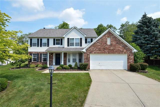10563 Greenway Drive, Fishers, IN 46037 (MLS #21797749) :: Richwine Elite Group