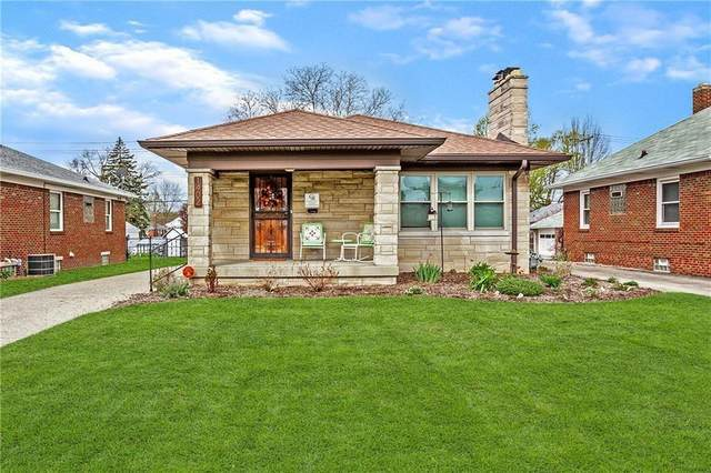 1402 N Hawthorne Lane, Indianapolis, IN 46219 (MLS #21797798) :: The Indy Property Source