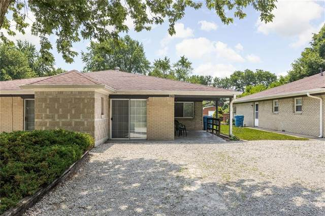 9205-9207 E 12TH Street, Indianapolis, IN 46229 (MLS #21798248) :: Mike Price Realty Team - RE/MAX Centerstone