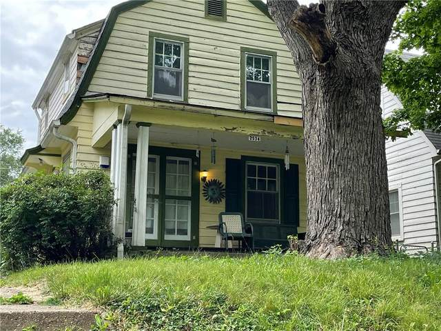 2534 E 16TH Street, Indianapolis, IN 46201 (MLS #21798299) :: AR/haus Group Realty