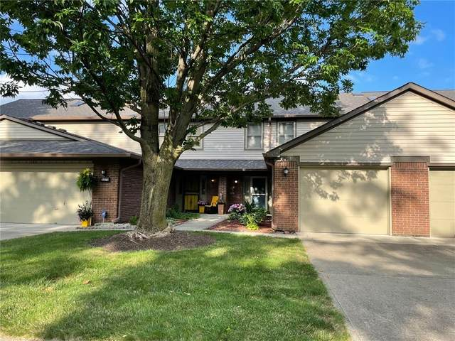 5371 Cotton Bay Drive W, Indianapolis, IN 46254 (MLS #21798333) :: The Evelo Team