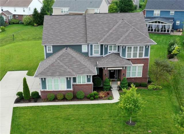 15396 Mcclarnden Drive, Fishers, IN 46040 (MLS #21798437) :: The Indy Property Source