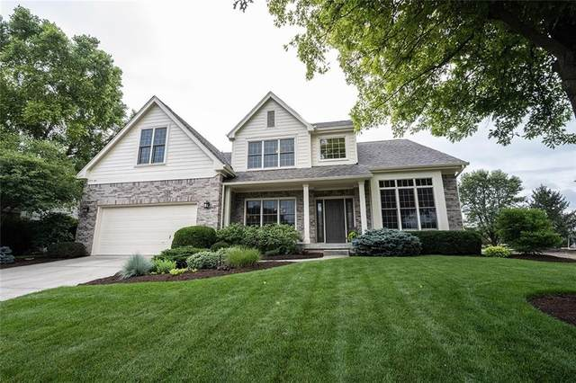 13557 Kelsey Lane, Fishers, IN 46038 (MLS #21798503) :: Mike Price Realty Team - RE/MAX Centerstone