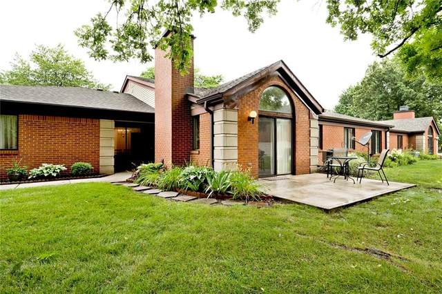 2260 Emily Drive, Indianapolis, IN 46260 (MLS #21798655) :: Dean Wagner Realtors