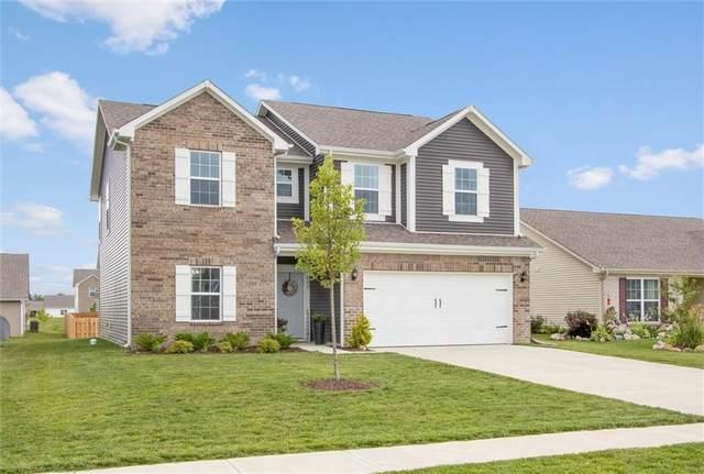 595 N Wyndstone Way, Fortville, IN 46040 (MLS #21798775) :: RE/MAX Legacy