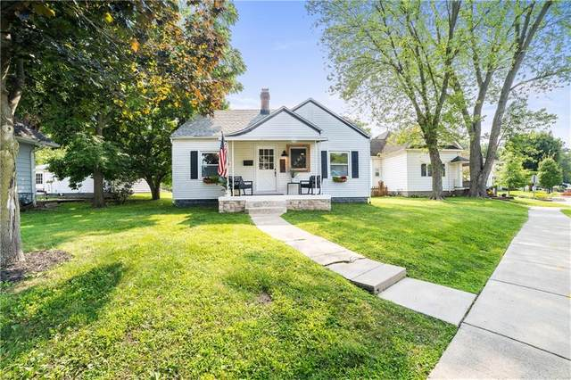 725 N Main Street, Franklin, IN 46131 (MLS #21798798) :: The Indy Property Source
