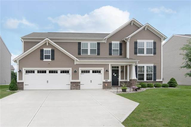 1527 Oakvista Drive, Greenwood, IN 46143 (MLS #21798888) :: AR/haus Group Realty