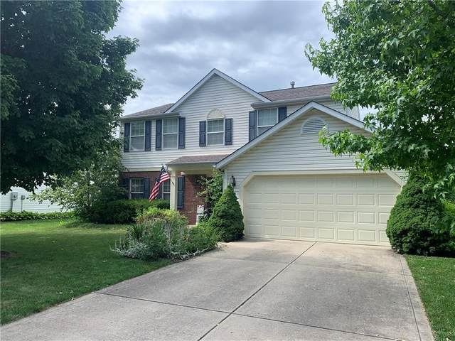 6262 Saddletree Drive, Zionsville, IN 46077 (MLS #21798889) :: Pennington Realty Team