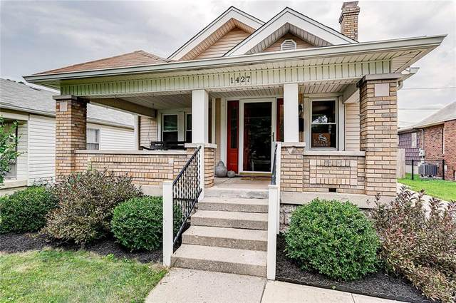 1427 N Linwood Avenue, Indianapolis, IN 46201 (MLS #21798892) :: Mike Price Realty Team - RE/MAX Centerstone