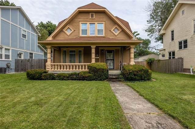 3851 Ruckle Street, Indianapolis, IN 46205 (MLS #21798985) :: The Evelo Team
