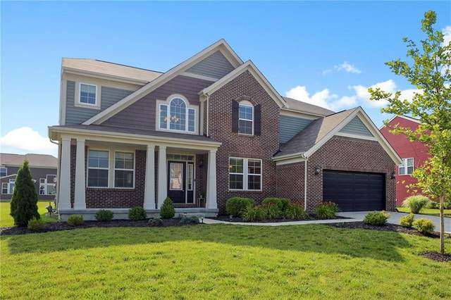 2297 Lingerman Court, Avon, IN 46123 (MLS #21799027) :: Mike Price Realty Team - RE/MAX Centerstone