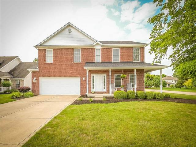1701 Williamsburg Circle, Franklin, IN 46131 (MLS #21799051) :: Mike Price Realty Team - RE/MAX Centerstone