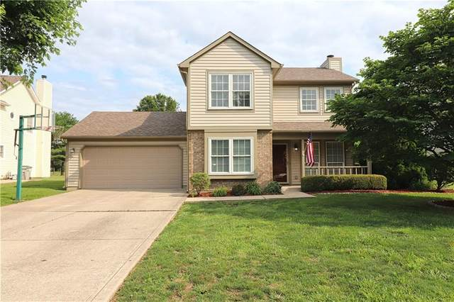 1232 Bull Run Drive N, Greenwood, IN 46143 (MLS #21799066) :: Mike Price Realty Team - RE/MAX Centerstone