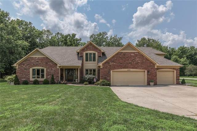 4202 Maple Hill Drive, Greenwood, IN 46143 (MLS #21799180) :: Pennington Realty Team