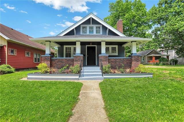 3142 Boulevard Place, Indianapolis, IN 46208 (MLS #21799282) :: AR/haus Group Realty