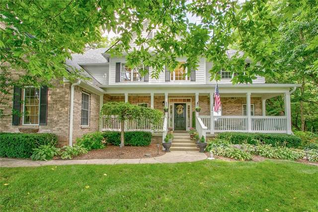 9698 Coyote Court, Noblesville, IN 46060 (MLS #21799291) :: The Evelo Team