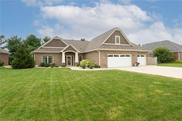 1335 Morningside Drive, Greenfield, IN 46140 (MLS #21799325) :: Mike Price Realty Team - RE/MAX Centerstone