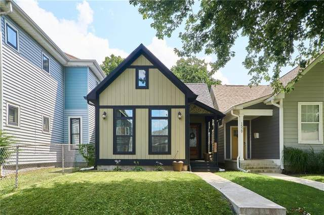 1531 Pleasant Street, Indianapolis, IN 46203 (MLS #21799359) :: David Brenton's Team