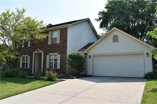 7735 Bayridge Drive, Indianapolis, IN 46236 (MLS #21799410) :: Mike Price Realty Team - RE/MAX Centerstone