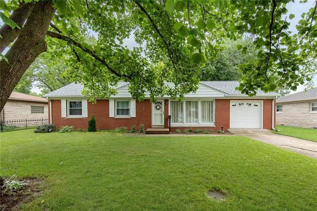 419 S Carr Road, Plainfield, IN 46168 (MLS #21799433) :: The Indy Property Source