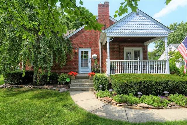 1748 Maynard Drive, Indianapolis, IN 46227 (MLS #21799440) :: The Indy Property Source