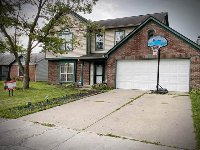 10145 E Park Valley Drive, Indianapolis, IN 46229 (MLS #21799514) :: Mike Price Realty Team - RE/MAX Centerstone
