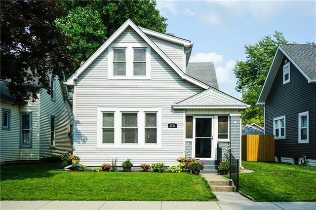 2121 S Garfield Drive, Indianapolis, IN 46203 (MLS #21799641) :: The Indy Property Source