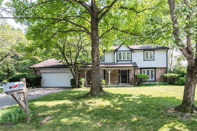 3009 Lehigh Court, Indianapolis, IN 46268 (MLS #21799793) :: The Evelo Team