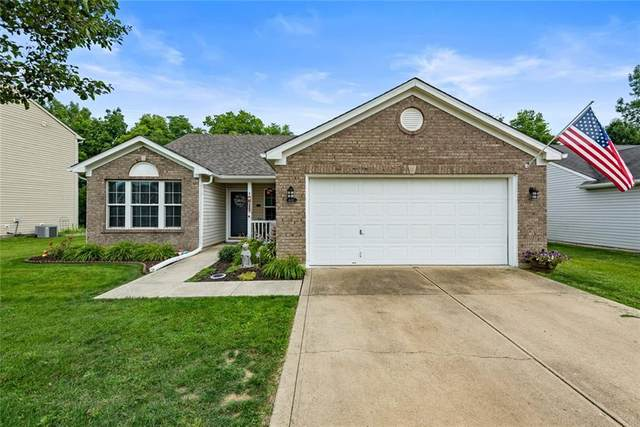1681 S Copeland Farms Drive, Greenfield, IN 46140 (MLS #21799805) :: Pennington Realty Team