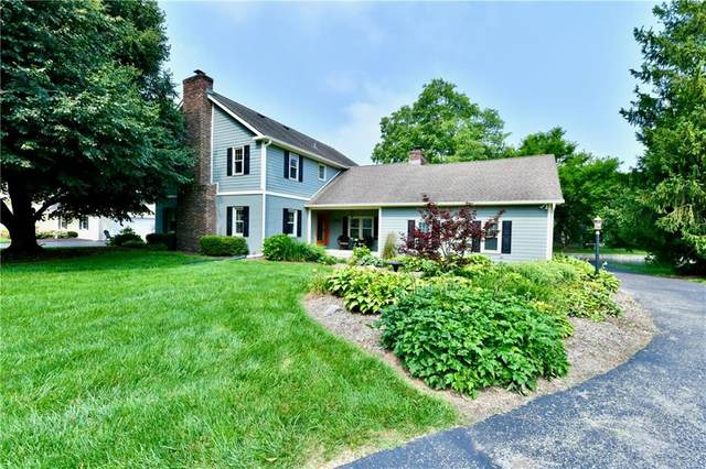 3670 Haverhill Drive, Indianapolis, IN 46240 (MLS #21800064) :: The Indy Property Source