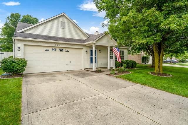 9201 Crossing Drive, Fishers, IN 46038 (MLS #21800086) :: Heard Real Estate Team | eXp Realty, LLC