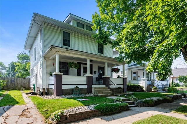 1105 S 21st Street, New Castle, IN 47362 (MLS #21800215) :: The Indy Property Source