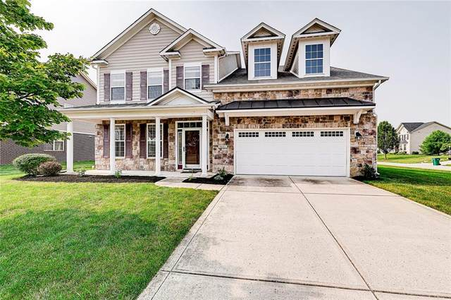 9441 Whisper Bend Drive, Indianapolis, IN 46278 (MLS #21800230) :: Dean Wagner Realtors