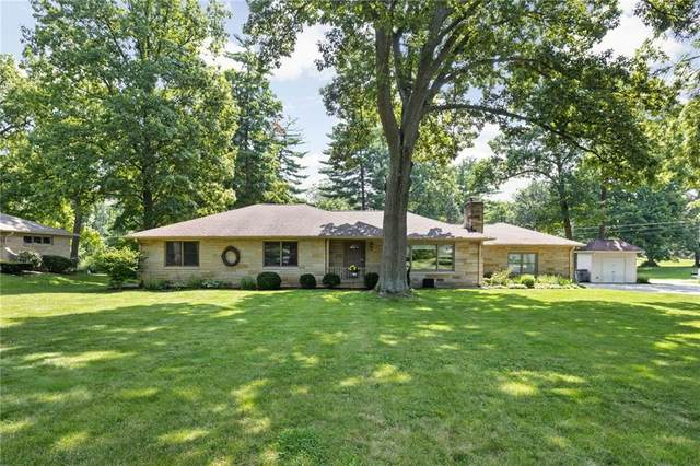 4545 Ingleside Lane, Indianapolis, IN 46227 (MLS #21800280) :: AR/haus Group Realty