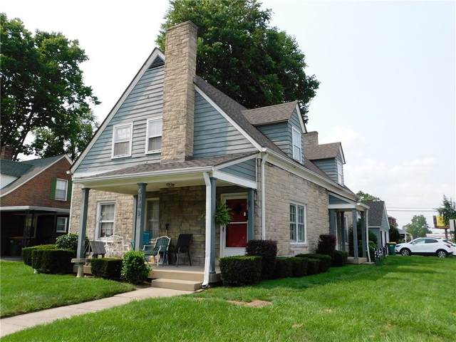 4948 W 16th Street, Speedway, IN 46224 (MLS #21800281) :: The Indy Property Source
