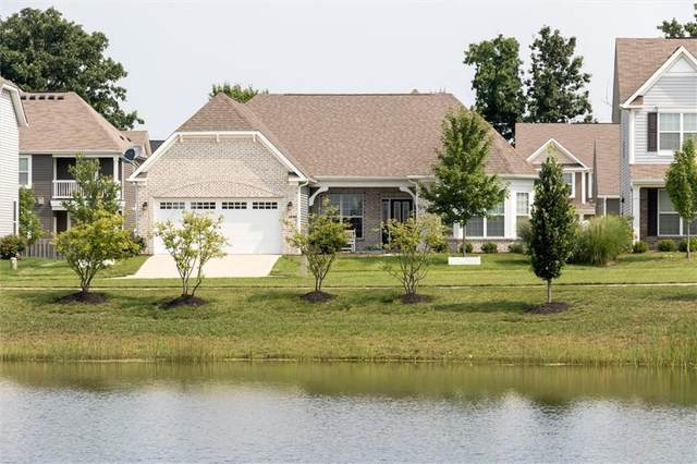 1290 Riverbank Drive, Westfield, IN 46074 (MLS #21800324) :: The Indy Property Source