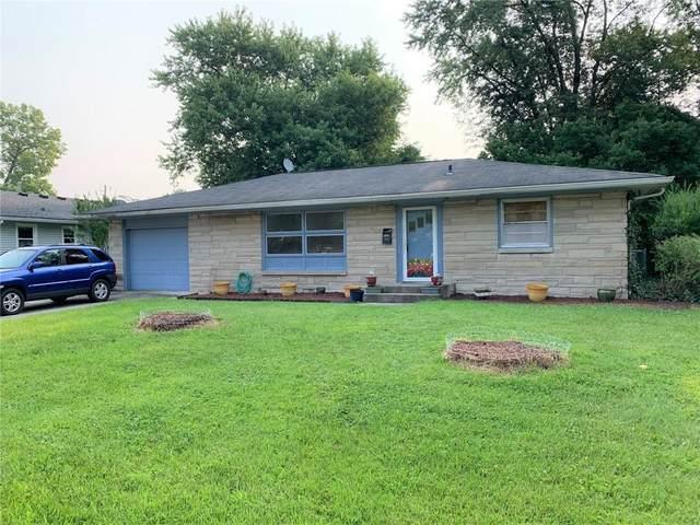 313 Lawndale Drive, Plainfield, IN 46168 (MLS #21800332) :: Heard Real Estate Team   eXp Realty, LLC