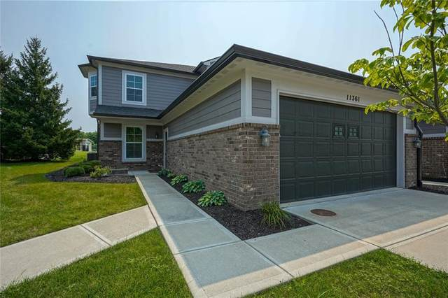 11361 Easterly Boulevard, Fishers, IN 46037 (MLS #21800339) :: AR/haus Group Realty