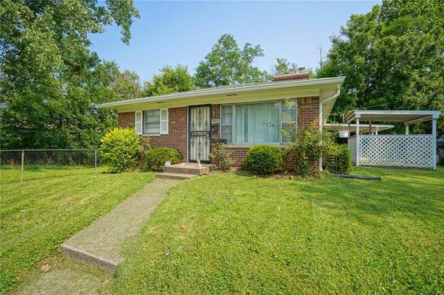 1452 Nelson Avenue, Indianapolis, IN 46203 (MLS #21800406) :: AR/haus Group Realty